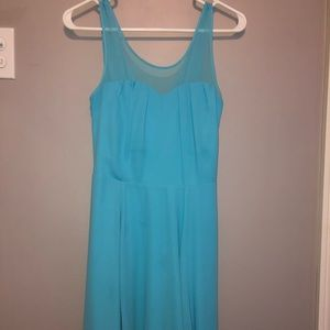 Light blue express dress